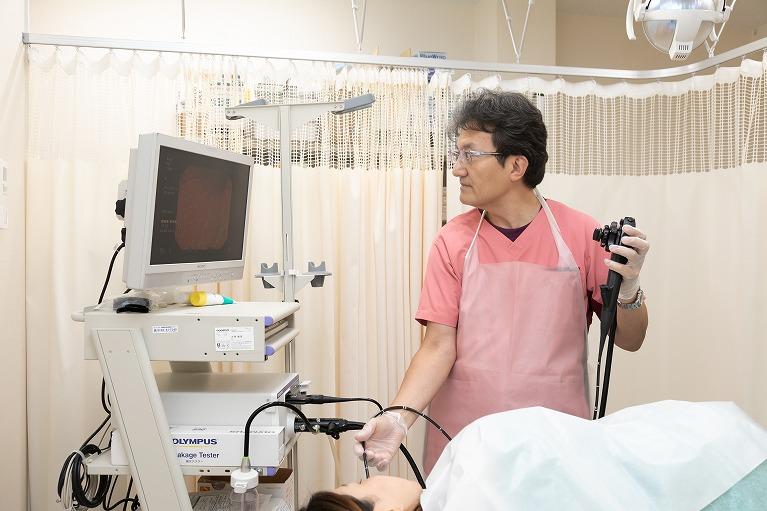 痛みが少ない胃カメラ(胃内視鏡検査)